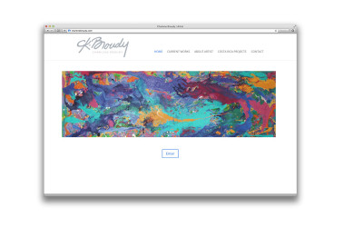 Charlene Broudy Artist - Website