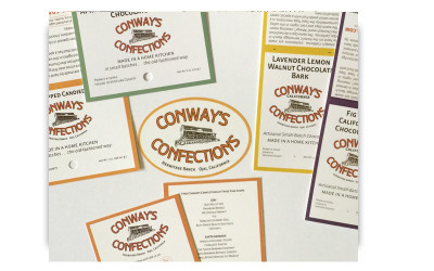 Conways Confections - Packaging